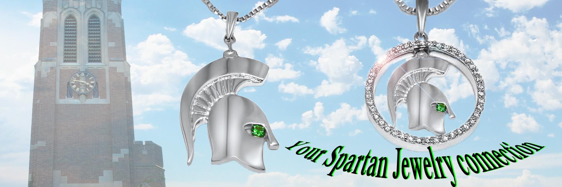 MSU-Spartan-Pendants