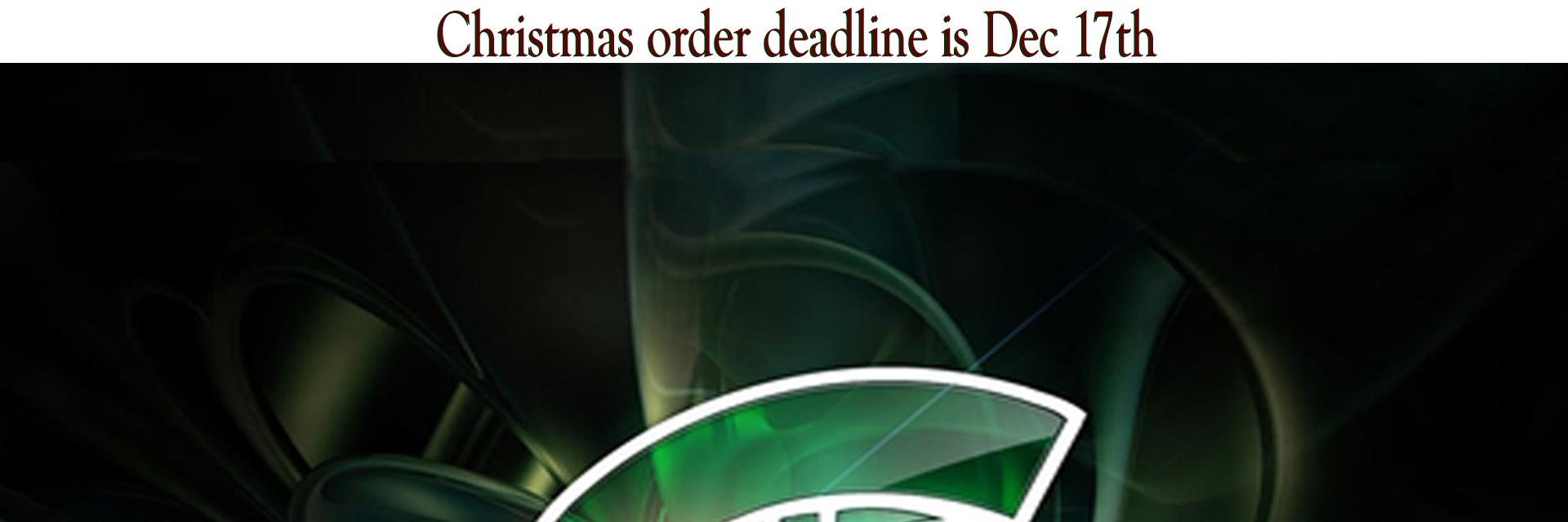 Christmas order deadline